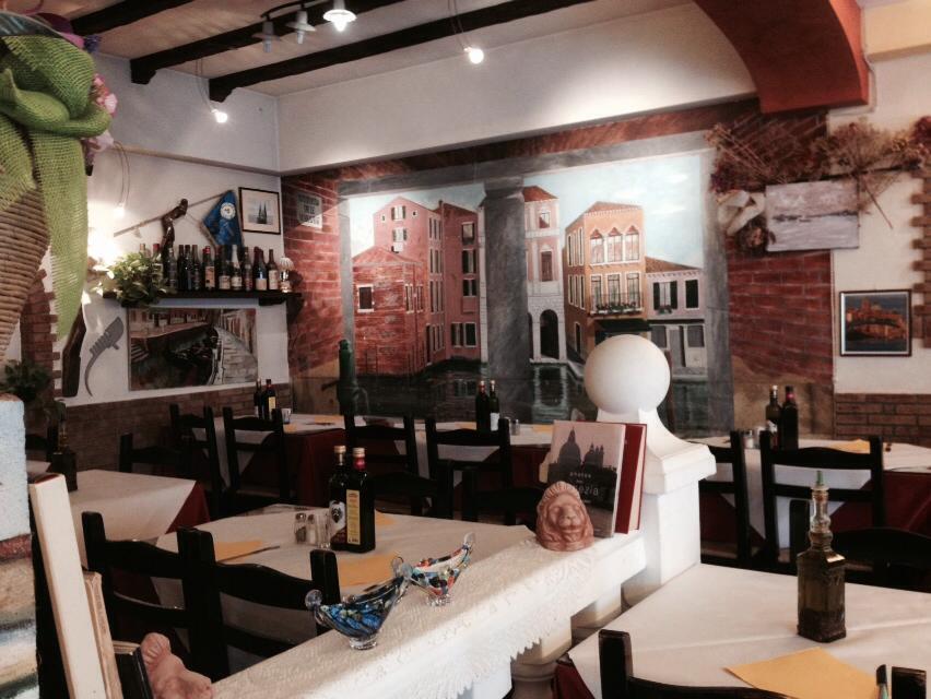 Pizzeria trattoria ai veneziani tv impianti illuminazione led