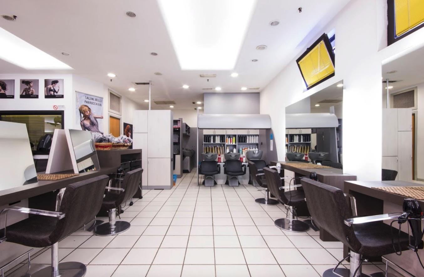 Illuminazione per parrucchiere: illuminazione per negozi di