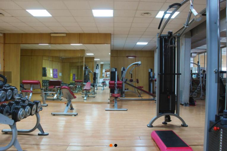 Palestra workout ro impianti illuminazione led relamping