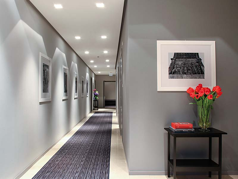 Illuminazione Di Un Corridoio : L importanza dell illuminazione led dell hotel impianti